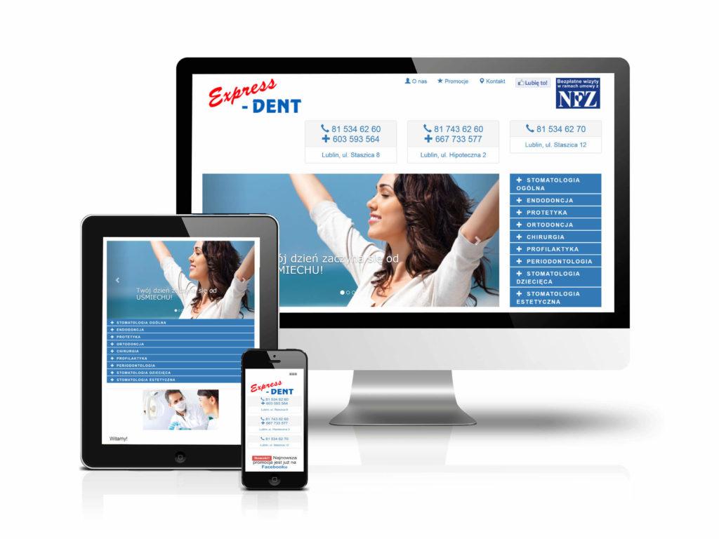 Ekrany rozdzielczości strony internetowej