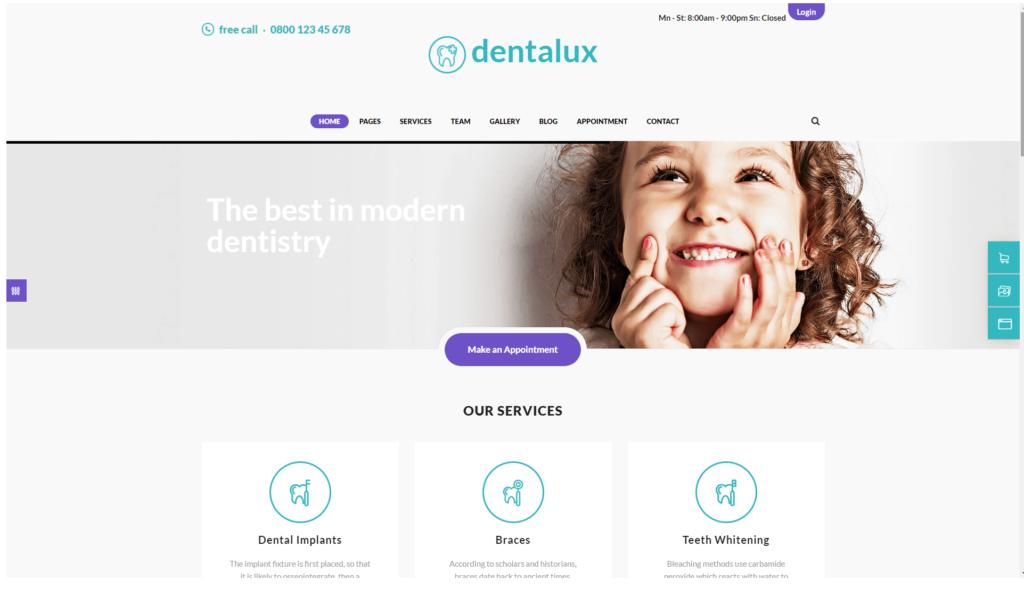 Dentysta strona internetowa