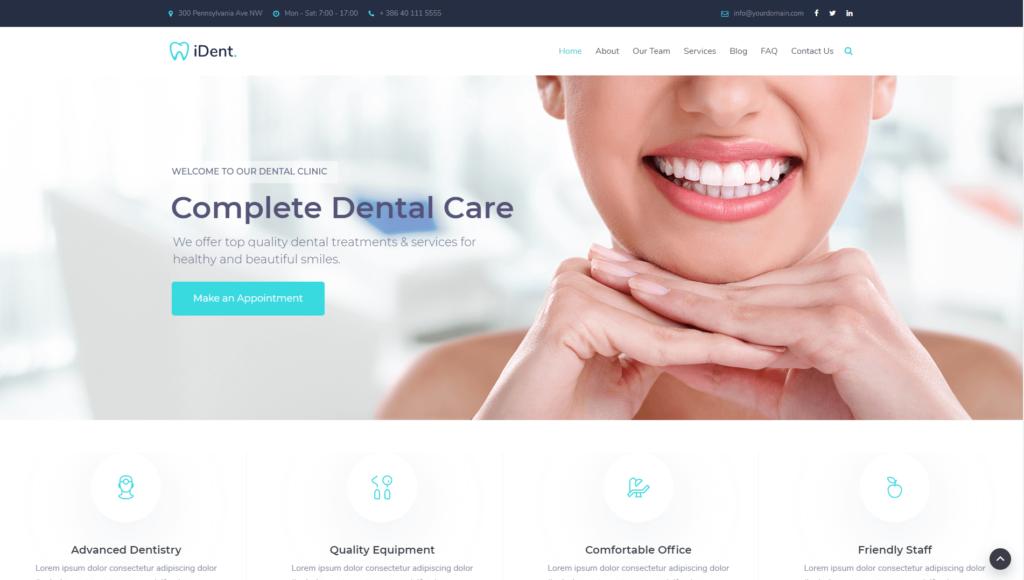 Dentysta strona www