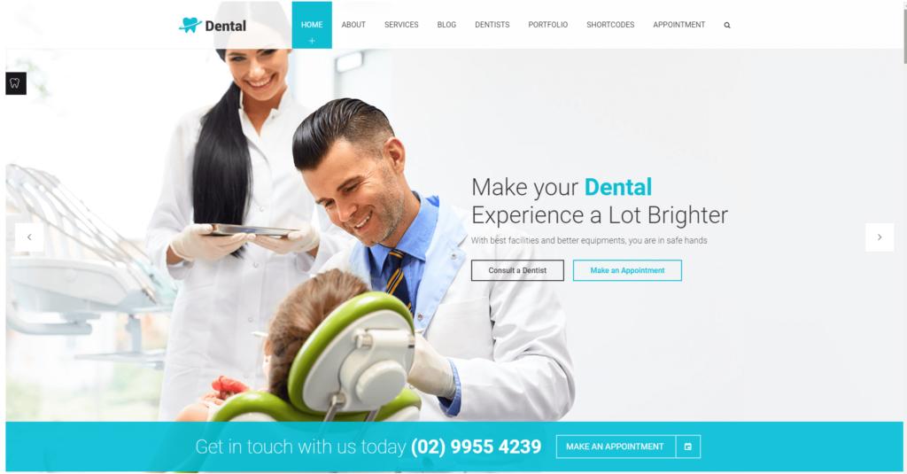 Strona www dla stomatologa
